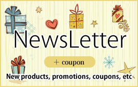 NewsLetter +for coupon